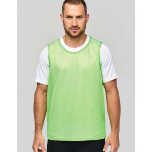Chasuble multi-sport pour adulte en filet léger, 90 g/m²