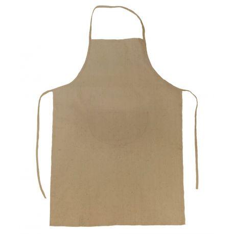 Tablier de cuisine à usage unique (pas de lavage) avec poche, 130 g/m²