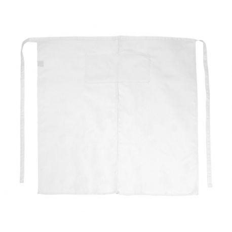 Tablier de bistro long avec fente et poches, 205 g/m²