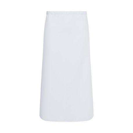 Tablier de cuisine sans bavette en polycoton, avec ruban, 215 g/m²