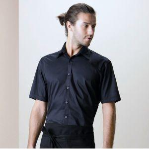Chemise de bar homme manches courtes élégante et fonctionnelle