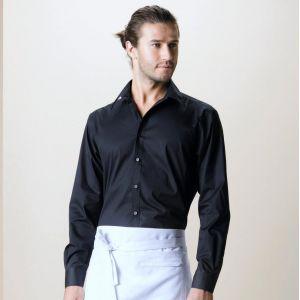 Chemise de bar homme manches longues élégante et fonctionnelle