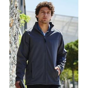 Softshell homme imperméable, 100% polyester, 270 g/m²
