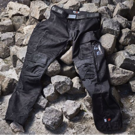 Pantalon de travail multi-poches, protection genoux cordura, 280 g/m²