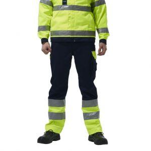 Pantalon déperlant haute visibilité multi-poches, 280 g/m²