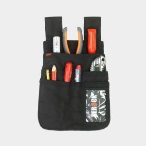 Poches à outils renforcées avec 2 boucles pour attacher à une ceinture