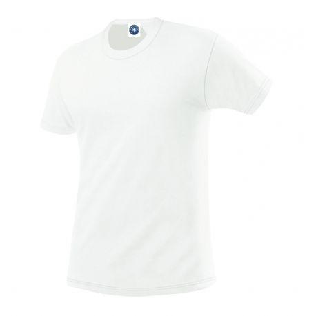 T-shirt unisexe coton bio col rond, manches courtes, 165 g/m²