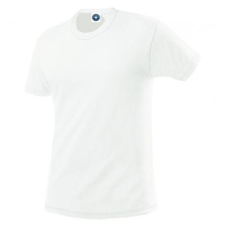 T-shirt en coton col rond, manches courtes, 180 g/m²