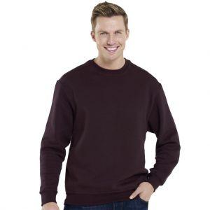 Sweat-shirt pas cher manches droites en polycoton, 300 g/m²