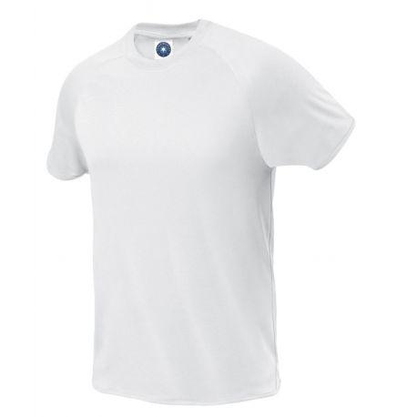T-shirt de sport respirant en micro polyester, séchage rapide, 145 g/m²