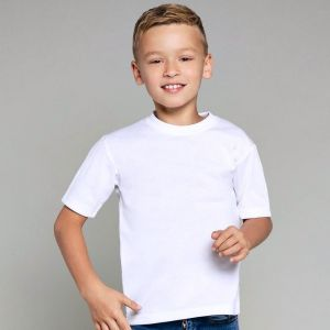 T-shirt enfant pour impression en sublimation thermique, 210 g/m²