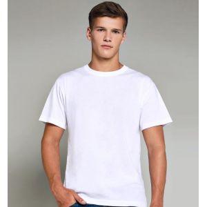 T-shirt homme pour impression en sublimation thermique, 210 g/m²