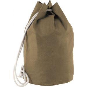 Sac à dos marin en coton et cordon épais, fermeture coulissante, 310 g/m²