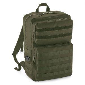 Sac à dos multipoches militaire avec patch décoratif interchangeable