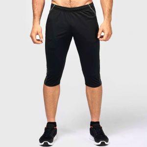 Pantacourt d'entraînement pour adulte, ceinture et bas zippés, 200 g/m²
