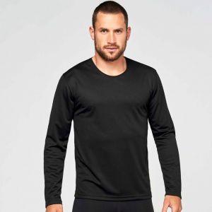 T-shirt manches longues homme respirant à séchage rapide, 140 g/m²