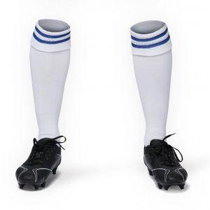 Chaussettes de sport rayées bicolores