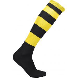 Chaussettes de sport cerclées bicolores