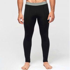 Collant sous-vêtement sport homme seconde peau, 200 g/m²