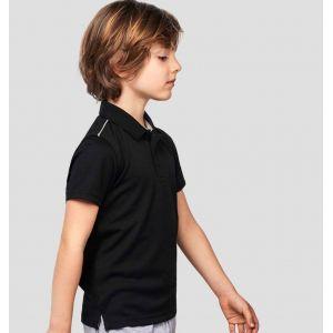 Polo respirant enfant interlock Quick Dry à séchage rapide, 155 g/m²