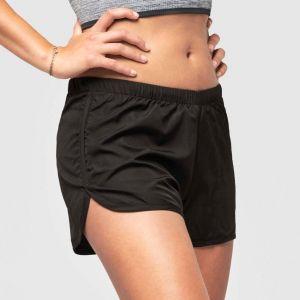 Short de running femme, petite poche intérieure, 70 g/m²