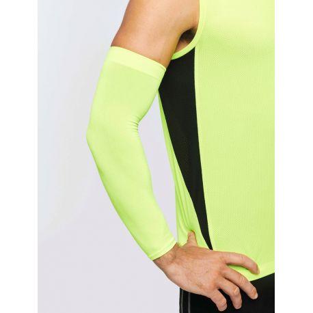 Manchon de compression sans couture confortable, protection UV 40+