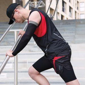 Manchon de compression bras sans couture doux, respirant à séchage rapide