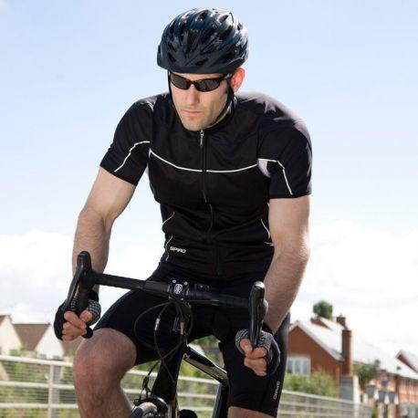 Short de vélo homme doux, léger et extensible à séchage rapide