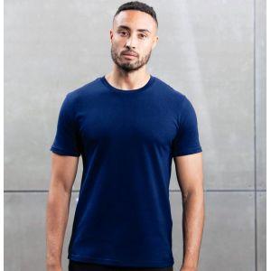 T-shirt homme moderne col rond en coton BIO, 160 g/m²