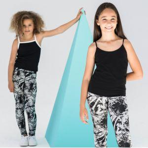 Débardeur feel good stretch à fines bretelles pour enfant, 165 g/m²