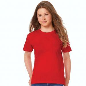 T-shirt enfant coton col rond, manches courtes, 145 g/m²