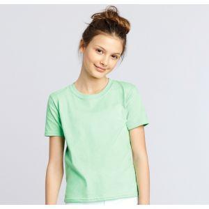 T-shirt enfant manches courtes en coton ringspun softstyle, 150 g/m²