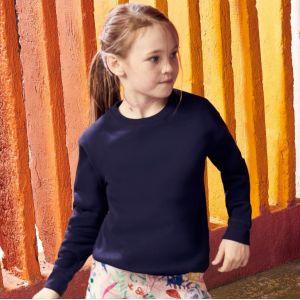 Sweat-shirt premium enfant set-in manches montées, 280 g/m²