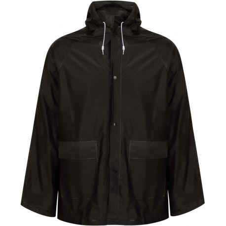 Veste poncho de pluie adulte en PVC, imperméable et coupe-vent