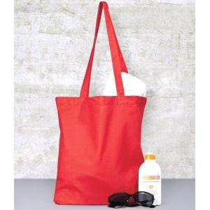 Tote bag, sac shopping coton pas cher vierge, 140 g/m²