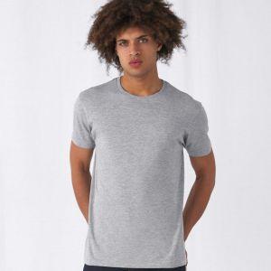 T-shirt homme coton BIO col rond, manches courtes, 145 g/m²