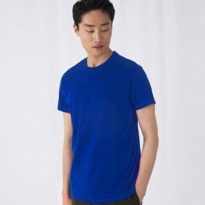 T-shirt homme coton épais col rond, manches courtes, 185 g/m²