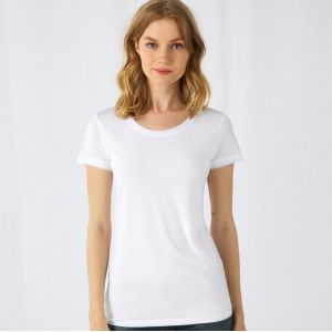 T-shirt femme sublimable moderne et doux de haute qualité, 140 g/m²