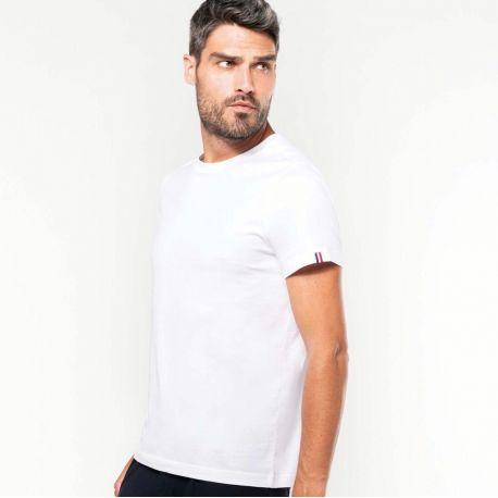 T-shirt homme BIO col rond Origine France Garantie, 170 g/m²