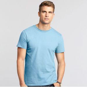 T-shirt homme manches courtes en coton ringspun softstyle, 150 g/m²