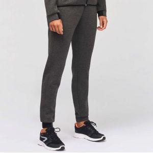 Pantalon jogging de sport pour femme effet chiné, 310 g/m²