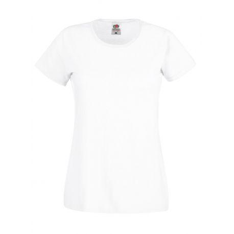 T-shirt femme original en coton col rond, manches courtes, 145 g/m²