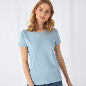 T-shirt femme coton BIO col rond, manches courtes, 145 g/m²