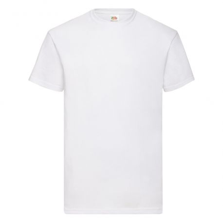 T-shirt homme col rond valueweight en coton, manches courtes, 165 g/m²