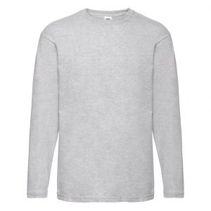 [PROMO] T-shirt homme manches longues en coton idéal pour impression, 165 g/m²