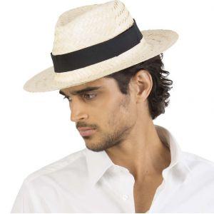 Chapeau Panama en fibres végétales