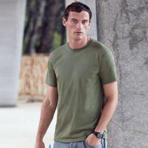 T-shirt premium en coton belcoro lavable 60°C manches courtes, 205 g/m²