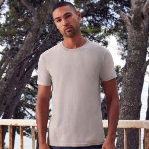 T-shirt homme Premium en coton ringspun épais lavable à 60°C, 195 g/m²