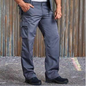 Pantalon de travail enduction anti-tâches lavable à 60°C, 260 g/m²