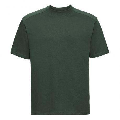 T-shirt de travail en coton ringspun lavable à 60°C, 180 g/m²